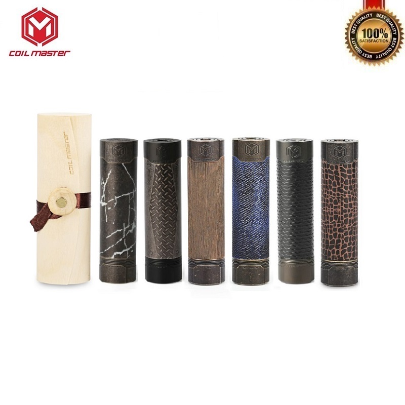 Bobine d'origine Mech mécanique Vape Mod alimenté par 18650 batterie E-Cigarette vapeur Mods 510 fil VS VGOD Pro Mod