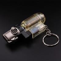 Windproof Travel Torch Turbo Lighter Jet Butane Gas Cigarette Lighter Butane Gun Fire Reusable Lighter Z
