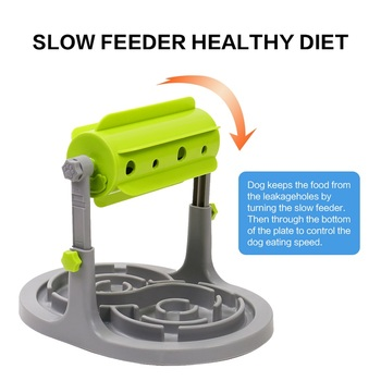 Petshy Pet Dog Interactive Toys Slow Feeders Bowl Healthy Diet Dogs Cats Food Feeder Foraging Toy Pets Food Treat Feeder Ball 2