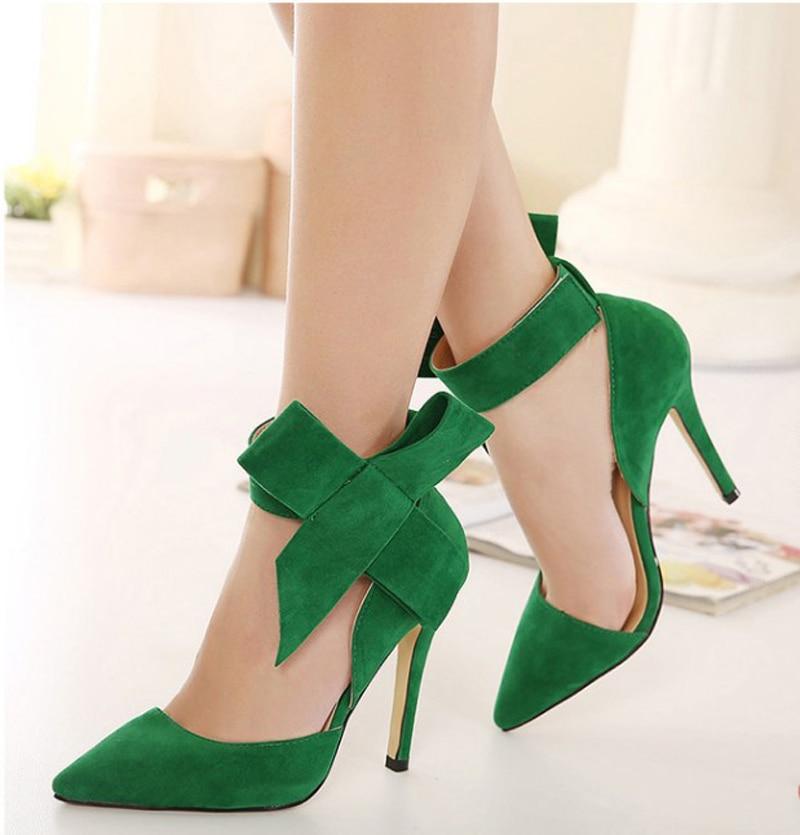 De Mujer Altos Grande Zapatos Qpuszvm Bowtie Tallas Tacones Grandes xoCrWBQdeE