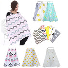 INS Cartoon Baby Infant Breastfeeding Cover Nursing Covers Mother Breast Feeding 100% Cotton Maternity Outdoor Nursing Apron