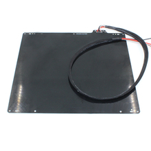 wholesale 3D printer UM2 special aluminum plate heat bed with PT100B resistance cable for Ultimaker2 free shipping