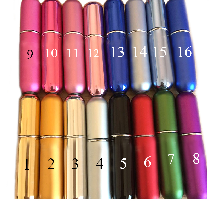 16 colors 5ml makeup Travel Empty Refillable Perfums