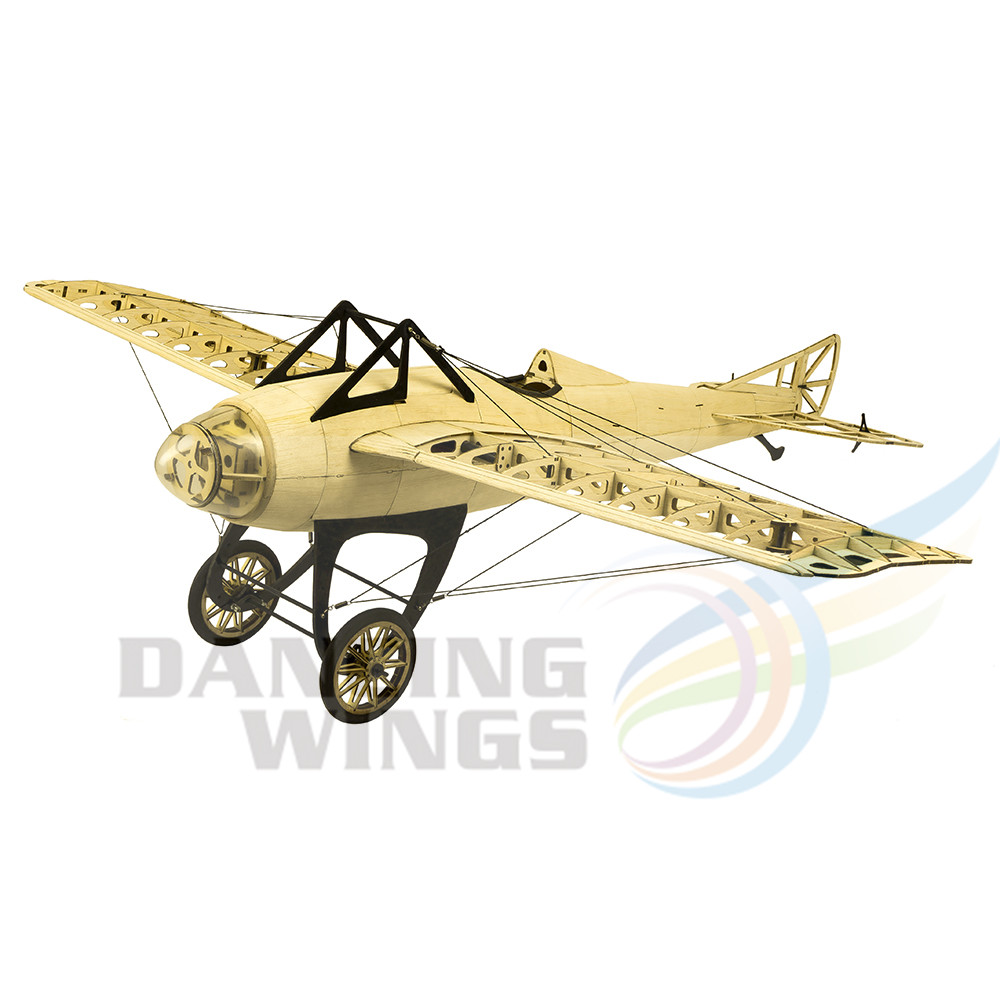 2019 New Scale RC Balsawood Airplane Laser cutting Deperdussin Monocoque 1000mm 39 Balsa Kit DIY Building
