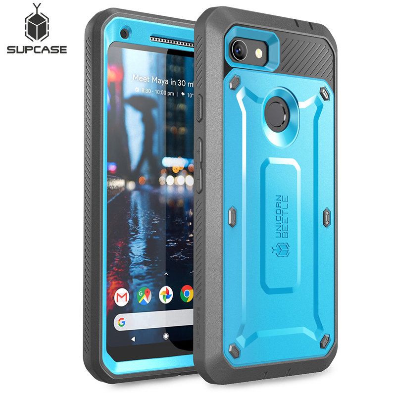 SUPCASE For Google Pixel 3a XL Case (2019) UB Pro Full Body Rugged Holster Protective Case Cover with Built in Screen ProtectorFitted Cases   -