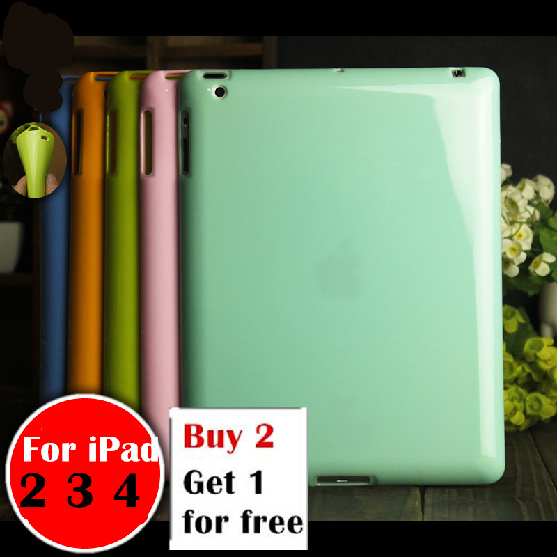 For ipad2 ipad3 ipad4 Pudding case For Apple ipad 2 3 4 9.7 tablet case Soft Silicone TPU Back Cover Case Protetcive shell case for ipad air 2 pocaton for tablet apple ipad air 2 case slim crystal clear tpu silicone protective back cover soft shell