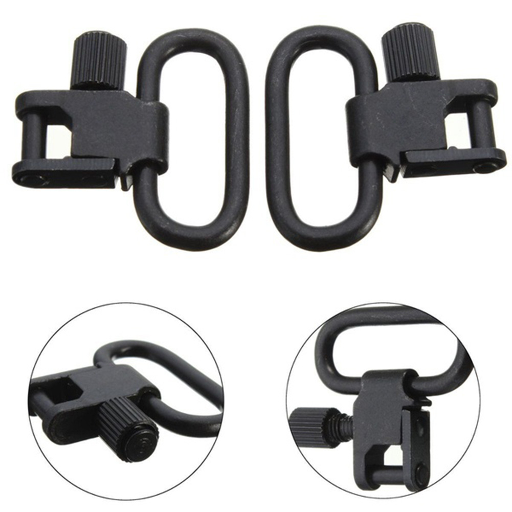 2Pcs/Lot Adapter Kit Sling Swivels High Tensile Strength Professional Quick Detachable Studs Bolt Hunting Shooting Accessoies