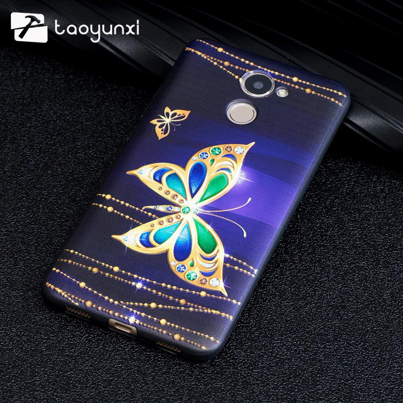TAOYUNXI Case For Huawei Y7 Prime Cases Silicone Matte Relife Cover For Huawei Enjoy 7 Plus TRT-AL00A Holly 4 Plus Covers Skin
