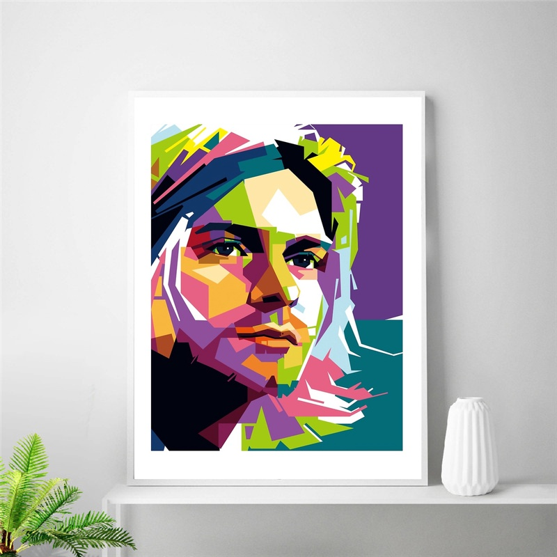 Großhandel kurt cobain canvas Gallery - Billig kaufen kurt cobain ...