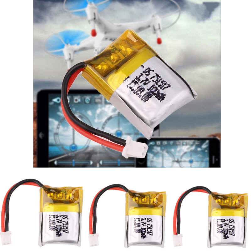 <font><b>3.7V</b></font> <font><b>100mAh</b></font> <font><b>Lipo</b></font> <font><b>Battery</b></font> For Cheerson CX-10A RC Quadcopter WLtoys V272 Mini four-axis accessories <font><b>3.7V</b></font> <font><b>100mAh</b></font> Li-po <font><b>Battery</b></font> image