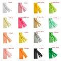 (12x35 cm) 1 pack = 5 unids Tejido Boda de Papel de Embalaje de Regalo de Papel Copia en Papel de Seda DIY Material de Arco Iris de colores