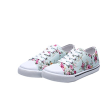 2019Spring New Kids Sneakers Canvas Shoes for Girls Children Student School Casual Sport 3T 4T 5T 6T 7T 8T 9T 10-15T