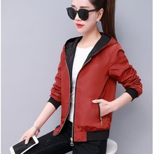 Plus Size Women Long Sleeve Hooded Coats Spring Autumn Casual Solid Zip Up Basic Jackets цена и фото