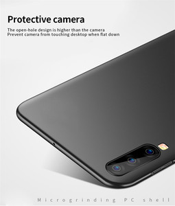 Image 5 - For Samsung Galaxy A80 Case Silm Luxury Ultra Thin Smooth Hard PC Phone Case For Samsung Galaxy A80 Cover For Samsung A80 Fundas