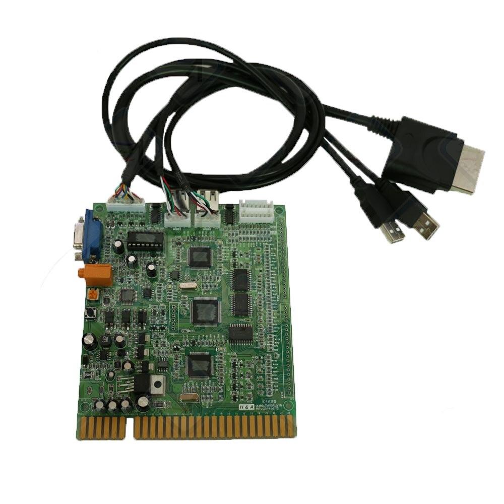 Minuterie monnayeur PCB usb joystick contrôleur conseil Jamma X BOÎTE 360 USB Joystick Minuterie Carte Contrôleur Arcade