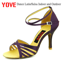 YOVE Style w121-82 Dance shoes Bachata/Salsa Indoor and Outdoor Women's Dance Shoes