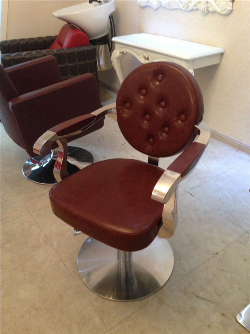 Manufacturers selling round back hair salon hairdressing chair. - Furniture - Photo 3
