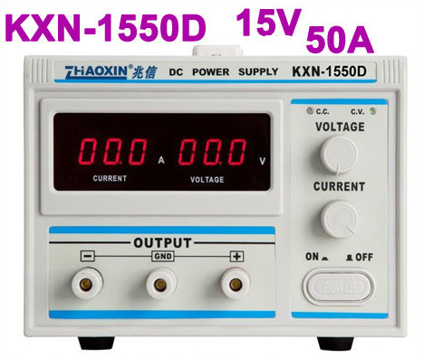 где купить  Digital KXN-1550D High-power Switching DC Power Supply, 0-15V Voltage Output,0-50A Current Output  по лучшей цене