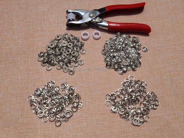 100 Sets Zilver Kleuren 95mm Metalen Koper Prong Drukknopen