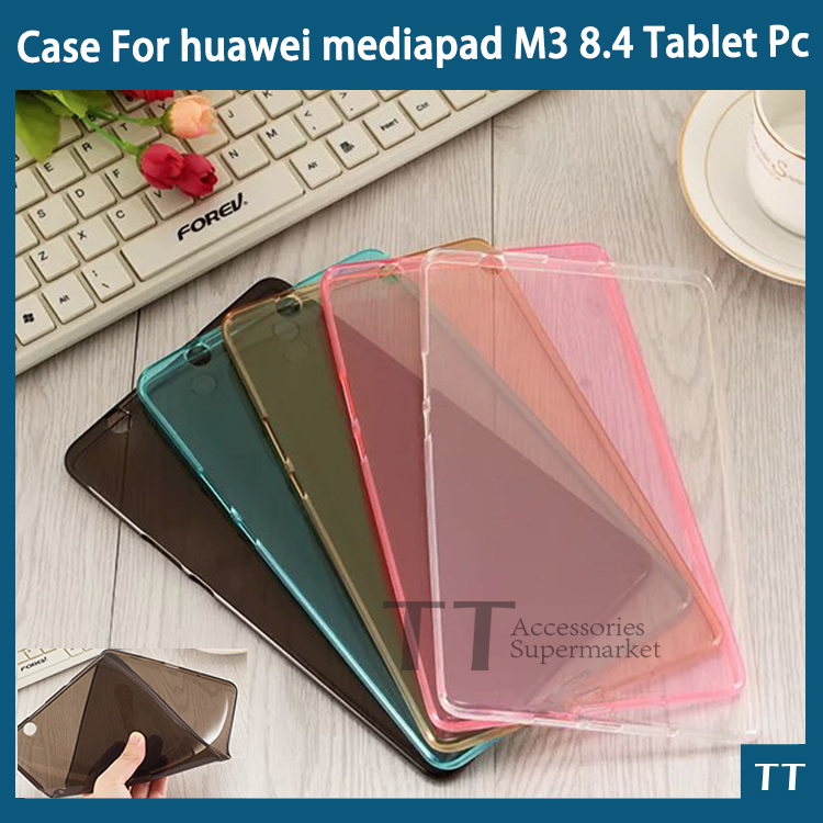 For huawei mediapad M3 case 2016 Newset Colorful Ultra-thin High quality TPU case For huawei mediapad M3 BTV-W09 BTV-DL09 8.4