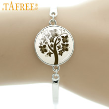 TAFREE Brand autumn charms Tree of Life bracelet new fashion women jewelry high quality exquisite wonderful gifts for girls B767(China)