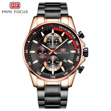 цены MINIFOCUS Fashion Sport Watch Chronograph Men Waterproof Quartz Calendar Watches Casual Military Male Clock Relogio Masculino