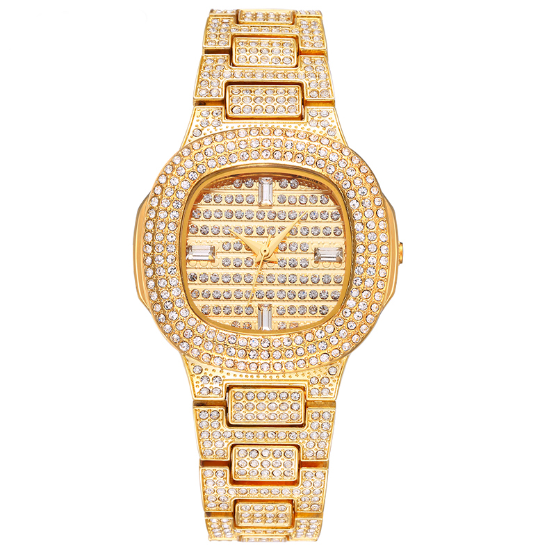 Luxury Brand Watch Women Quartz Ladies Gold Top Fashion Wrist Watches Diamond Women Wristwatch Girls Female Clock Hours weiqin luxury gold wrist watch for women rhinestone crystal fashion ladies analog quartz watch reloj mujer clock female relogios