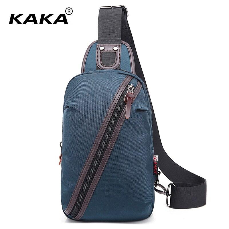 KAKA Brand Designer Fashion Waterproof Men Messenger Bags Women Chest Pack Unisex Cross Body Bag Fashion Functional Bag for Ipad цена