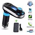 Bluetooth Car Kit  Dual USB Port Aux Bluetooth  Handsfree MP3 Player Wireless FM Transmitter  Bluetooth Car Adapter Aux