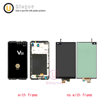 For LG V20 LCD Display Touch Screen Digitizer Assembly With Frame Replacement Parts VS995 VS996 LS997 H910 5.7″ For LG V20 LCD
