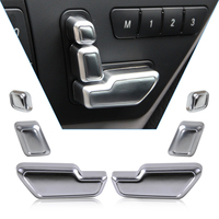 Chrome Door Seat Adjust Button Switch Cover Trim For Mercedes Benz E GL CLS Class W212