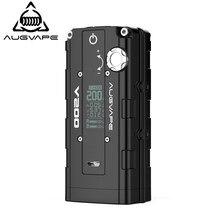 89947670e552 Augvape V200 caja mod vape derivación automática V modo Dual 18650 batería  de aleación de Zinc