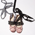 2016 Brand New Ballet Flats Sweet Bowtie Korean Style Double Buckle Fashion Ballerinas Espadrilles Shoes for women shoes z248