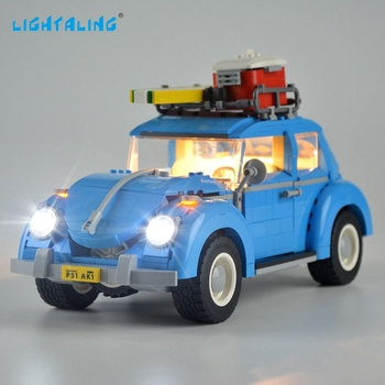 Lightaling Led Light Set For 10252 Creator Volkswagen Beetle Lighting Kit Compatible With 21003 lightaling led light set for famous brand 10182 15002 make