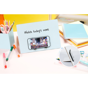 Image 4 - Decorative Wooden Bulletin Board Plaques Erasable Writing Boards Multi functional Chalkboard Blackboard Whiteboard Home Decor