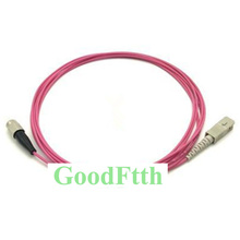 Fiber Patch Cord Kabel FC SC SC FC OM4 Simplex Goodftth 1 15M 6 Stks/partij