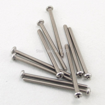 1 piece Metric M6*20mm Stainless steel Cross Recessed Pan Head Screws Fasteners image