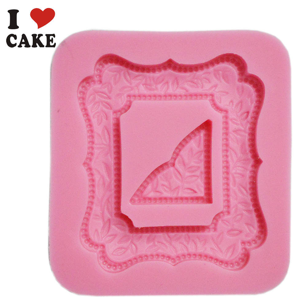 Silicone Cake Mold Photo Frame Face Cooking Tools Silicone