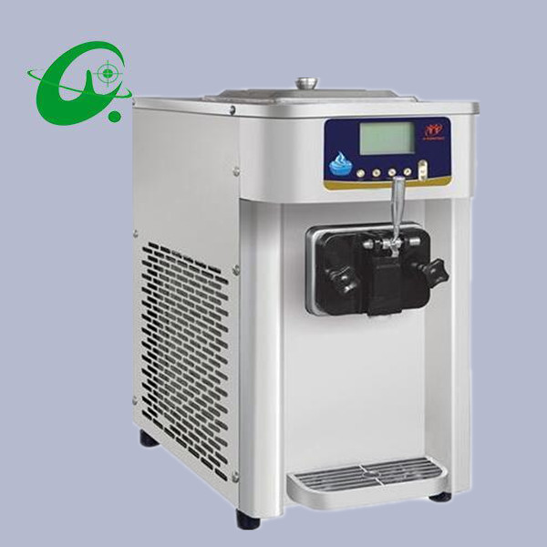6L/H Table Top  soft Serve ice cream maker machine Mini air cooling taylor ice cream yogurt making machine