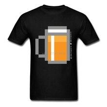 Kick-ass 8-Bit Beer men's t-shirt