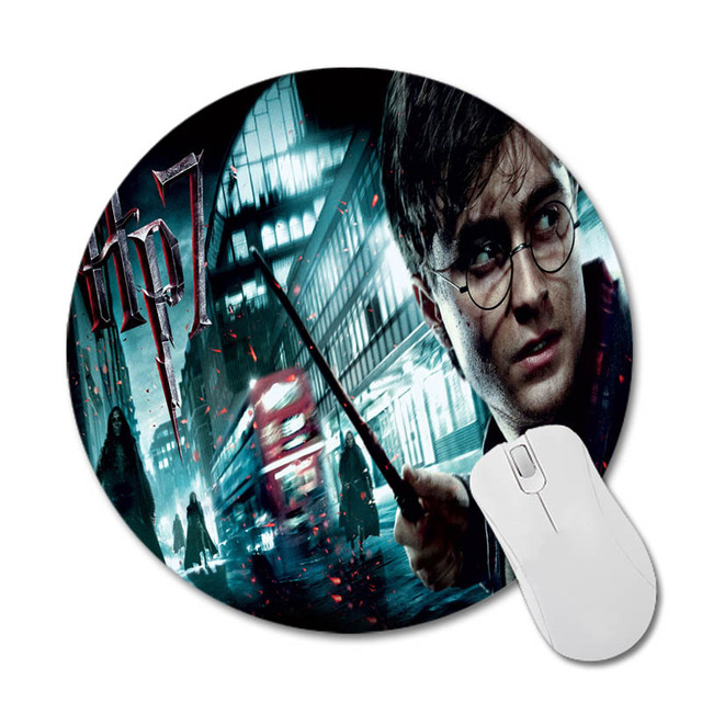 Harry Potter Round 200*200*2mm Mouse Pad Mousepad Computer PC Laptop Comfort Gaming Mouse Pad