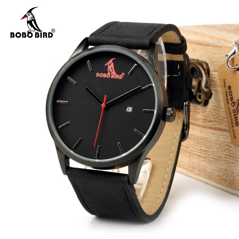 BOBO BIRD WG15 Retro Round Wrist Watch s