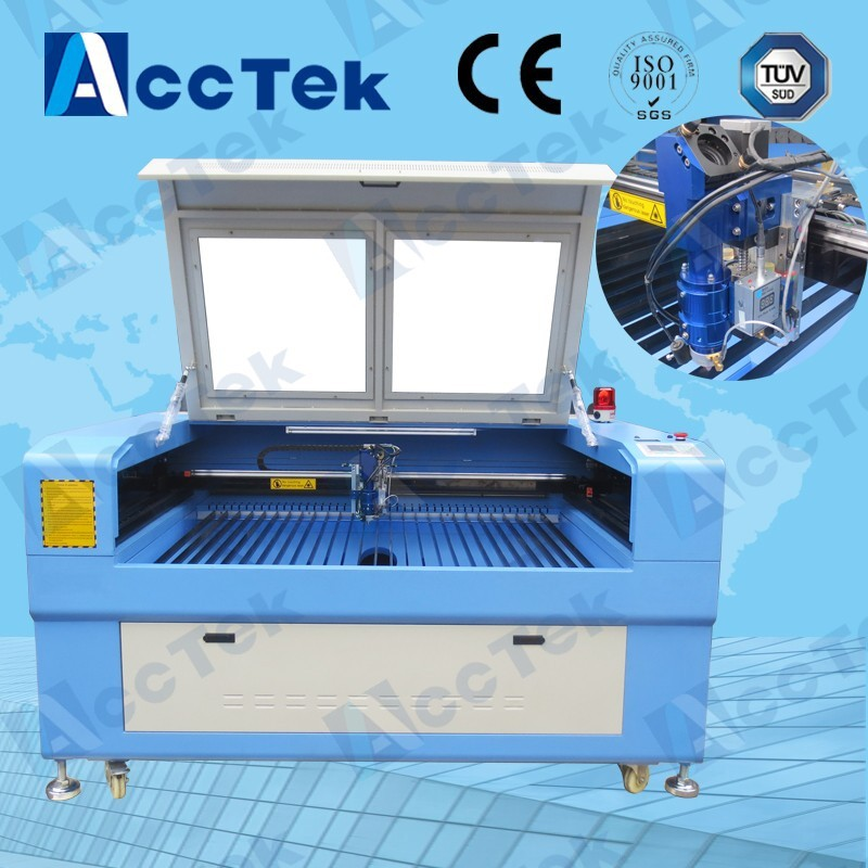 AKJ1390H Factory Supply China CNC Machining Co2 Laser Metal Cutting Machine Price For Steel Plywood Plastic Wood Clthes