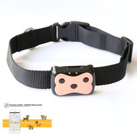 Smart Waterproof MiNi GPS Pet Tracking Collar Tracking Tracker Collar For Dog Cat GPS LBS Positioning Geo Fence Track Device