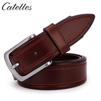 Catelles 2017 New Fashion Belt For Men 100 Genuine Leather Hand Made Stiching Italy Design Made