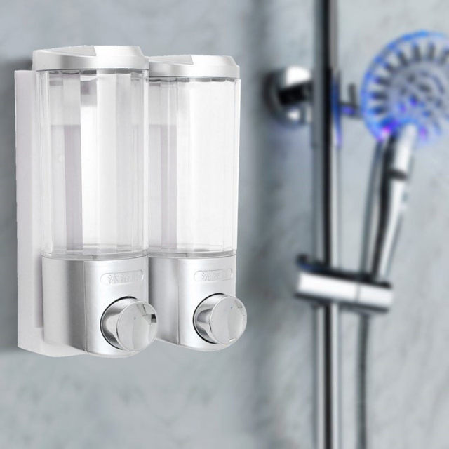bathroom bottle dispenser easy way caddy shower best and de to an your