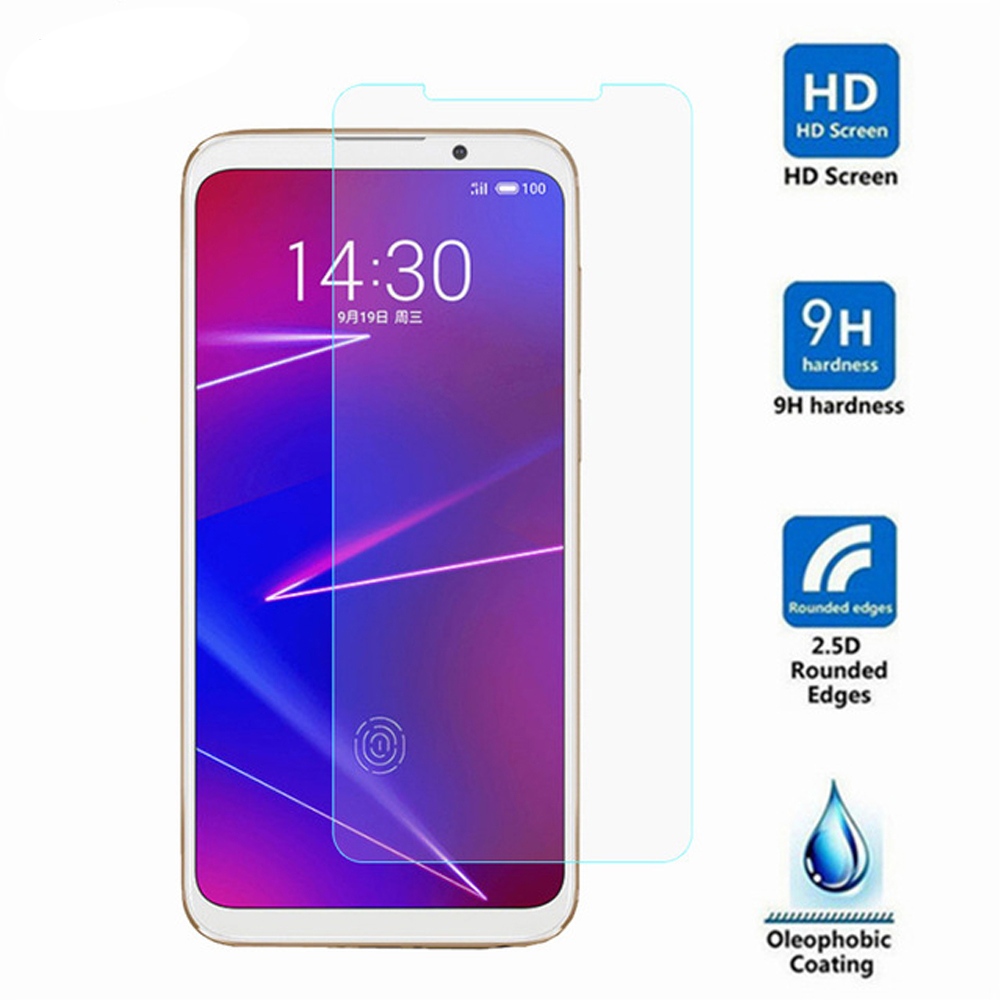 For Meizu 16 Protective Glass For Meizu 16 16x 16th Plus 15 Lite Plus Phone Screen Protector On Glass Tempered Smartphone Film