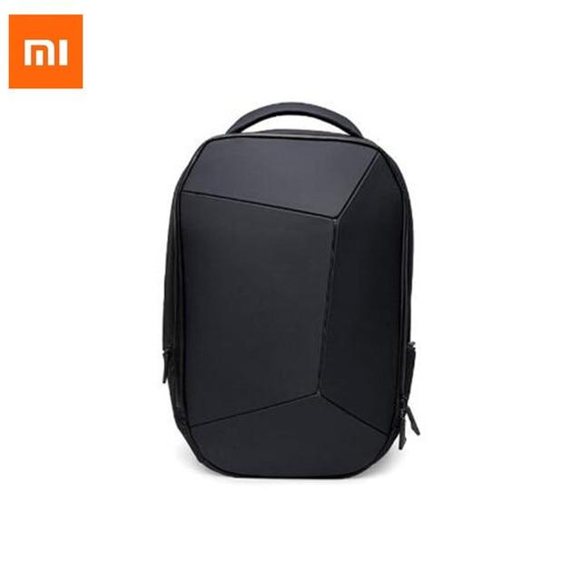 477b6981f99e Xiaomi jike Cool Business Backpack Men Women Waterproof Backpack bag Body  Durable and Geometry Design bolsa