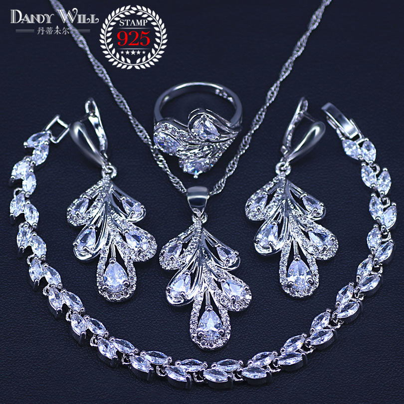 Turkish Handmade Jewelry Sterling Silver 925 Zircon Ring 6 7 8 9