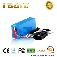 e bike battery 72V 20ah lithium battery pack 72 volt PVC battery with charger for electric bicycle
